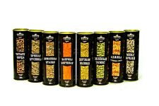 "Organic Spice Mix Set ""Grill & BBq"" 8 in 1, Herbs & Spices by PapaVegan"