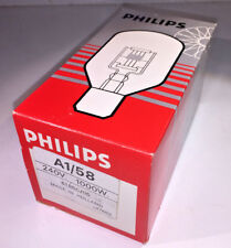Philips A1/58 / BRS bulb - 240v 1000w, brand new, unused