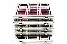 HEAVY DUTY 5 DENTAL AUTOCLAVE STERILIZATION CASSETTE RACK TRAY FOR 20 INSTRUMENT