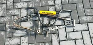 vintage old SCHOOL peugeot CPX 300 20 INCH FRAME STEM AND HANDLEBAR AND PAD