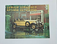 Antique Automobile 1973 March/April 1931 Minerva1936 Ford 1907 2 Cylinder Reo