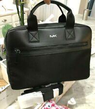 Michael Kors Kent Sport Men's Double Zip Laptop Briefcase Messenger Bag $398 NWT