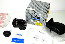 New MINT+++ Konica M-Hexanon 90mm f:2.8 for M-mount Leica M TOP+++