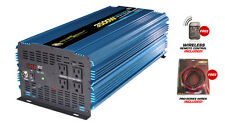NEW Power Bright PW3500-12 3500 / 7000 watts peak 12v DC 120 v AC Power Inverter