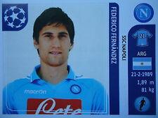 Panini 60 Federico Fernandez SSC Napoli UEFA CL 2011/12