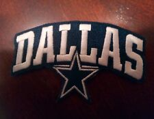 "Dallas Cowboys vintage embroidered iron on PATCH  4""x 2 1/2"""