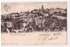 CPA LUXEMBOURG - DESCENTE DE CLAUSEN - 1903 - DND