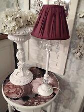 Stunning Vintage Laura ashley Refurbished  french crystal   lamp