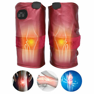 Electric Heat Knee Joint Leg Massager Body Pain Relief Blood Circulation Therapy