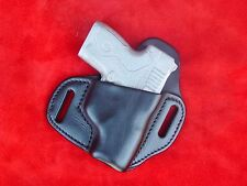 Beretta Nano  Hi Rise leather holster    black