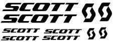 10 pegatinas de vinilo Scott  para bicicleta,no 306