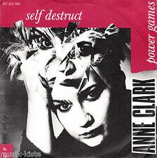 "ANNE CLARK - Self Destruct  ★ 7"" Vinyl Single"