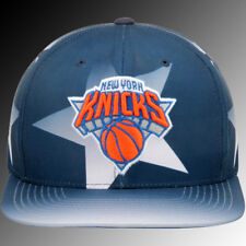 New York Knicks Navy Award Ceremony Mitchell & Ness Snapback Adjustable Hat NWT