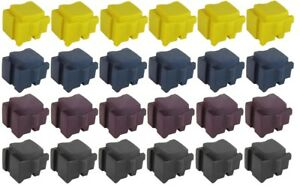 SALE!!!  Xerox ColorQube 8570/8580 Set of 24 Compatible Solid Ink Sticks
