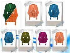 One Peace Gown NightWear Chiffon Bathrobe Wrap Blazer Woman's Wear Plus Size C46