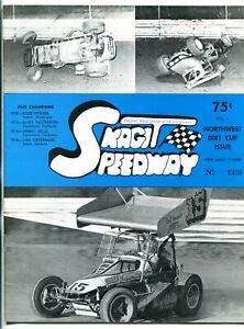 Northwest Dirt Cup Skagit Speedway Auto Race Program 1976