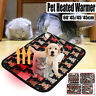 Large Electric Waterproof Pet Heated Warmmer Pad Puppy Dog Cats Bed Mat Heater