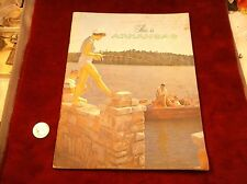 "VTG 1958 ERA VISITOR'S / TOURISM BOOK BOOKLET ""THIS IS ARKANSAS"" TRAVEL MAGAZINE"