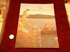 "VTG 1958 ERA VISITOR'S / TOURISM BOOK BOOKLET ""THIS IS ARKANSAS"" TRAVEL MAGAZINE"