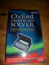 More details for seiko oxford crossword solver er3200