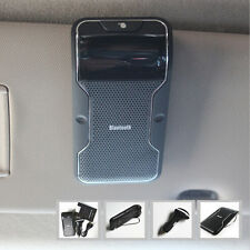 1x Sun Visor Clip Car Hands free Wireless Bluetooth Phone Speaker Mobile For BMW