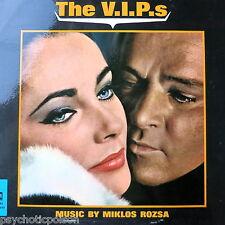 The V.I.P.s - OST LP UK 1963  MGM  – C 951 Miklos Rozsa - E. Taylor & R. Burton