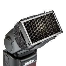 Flash Honeycomb Grid Spot Filter For Canon Nikon Sony Godox Yongnuo Speedlite