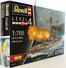 Revell 1:700 05157 WWII Battleship SMS Konig Model Ship Kit