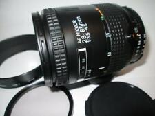 Nikon AF Nikkor 28-85mm f/3.5-4.5 Lens, HB-1 Hood, 1A Filter & Caps (Mint)