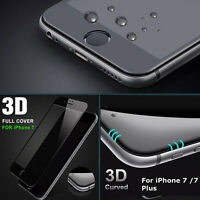 For iPhone 6/6s/7/Plus 3D Curved Full Cover Tempered Glass Screen Protector Film