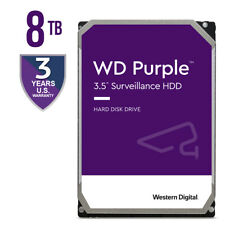 WD Purple Surveillance 8TB 7200RPM SATA 6Gb/s 256MB 3.5