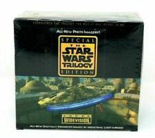 1997 Topps Star Wars Trilogy Special Edition Widevision Box* 36 Ct