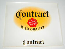 Lot 2 Lg Contract Mild Quality Cigar Box Label Unused NOS New 1930-40s Tobacco