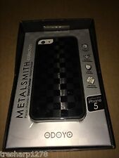 Odoyo Metalsmith Hard Case For iPhone 5/5s, Grand Checker NEW