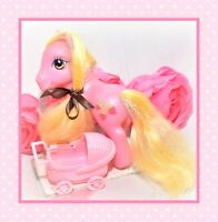 ❤️My Little Pony MLP G3 Strawberry Sunset Store Exclusive Pink Tinsel RARE❤️