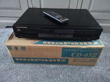 Marantz CD Player CD65 II Special Edition + Remote Control & Original box- Black
