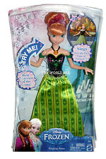 Mattel Disney Frozen Singing Anna Doll CJJ08