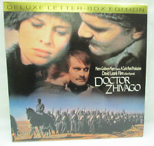 Doctor Zhivago Laserdisc Deluxe Letter Box Edition MGM Home Video Omar Sharif