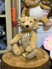 Steiff Elmar Traditional Soft Plush Teddy Bear, Fully Jointed, Size Small 32cm