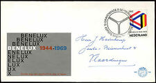Netherlands 1969 Benelux Customs Union FDC First Day Cover #C27383