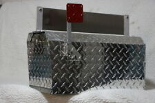 Heavy Duty Aluminum Diamond Plate 16 Gauge Mailbox Large Size With Name Plate