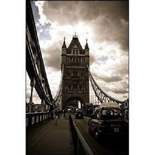 "London UK photography poster 24x36"" Tower Bridge"