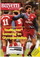 Bayern Magazin 13/46 , Bayern München - Kaiserslautern ,08.04.1995