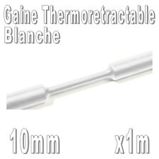 Gaine Thermo Rétractable 2:1 - Diam. 10 mm - Blanc - 1m