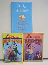 Judy Blume Books, Lot of 3 Paperbacks