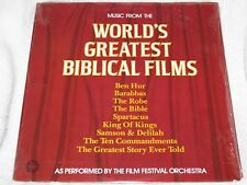 Music from World's Greatest Biblical Films Springboard SPB-4090 1977 Sealed LP