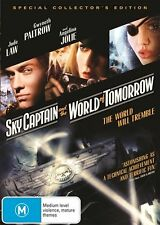 Sky Captain And The World Of Tomorrow (DVD, 2013)      G4