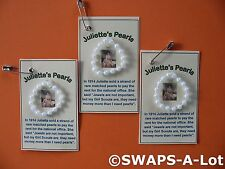 Juliette's Pearls Juliette Low SWAPS Kit for Girl Scouts to Exchange makes 25