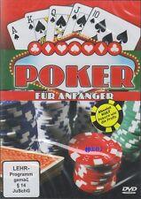 POKER für Anfänger + DVD Lehrfilm + Pokern wie die Profis + Wissen ist Macht !!!