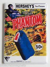 The Phantom Ice Cream Fridge Magnet (2 x 3 inches) sign bar popsicle Lee Falk